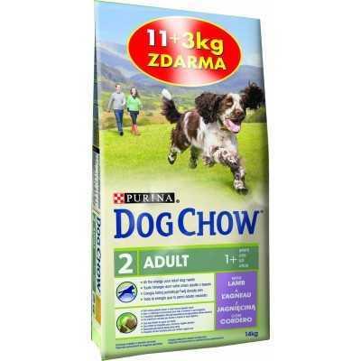 DOG -CHOW JEHNĚČÍ a rýže 11+3kg