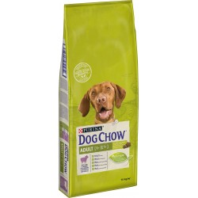 PURINA DOG CHOW JEHNĚČÍ a rýže 14kg
