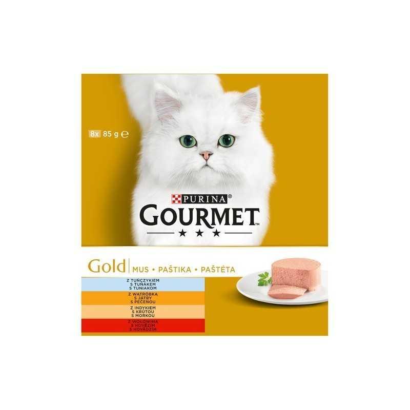 GOURMET GOLD 8x85g paštika