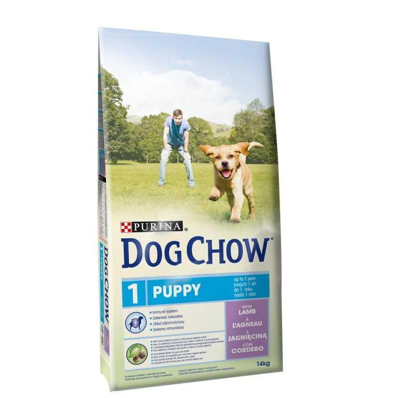 PURINA DOG CHOW PUPPY JEHNĚČÍ 14kg